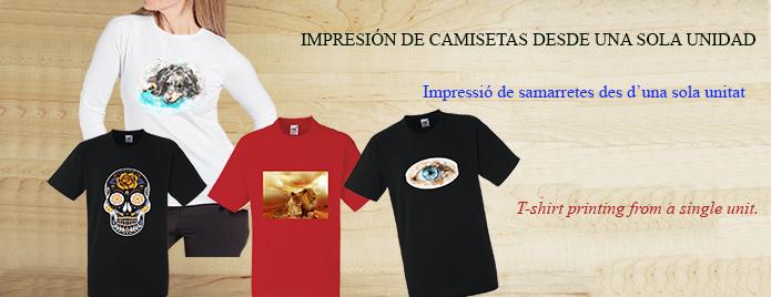 Impressió de samarretes